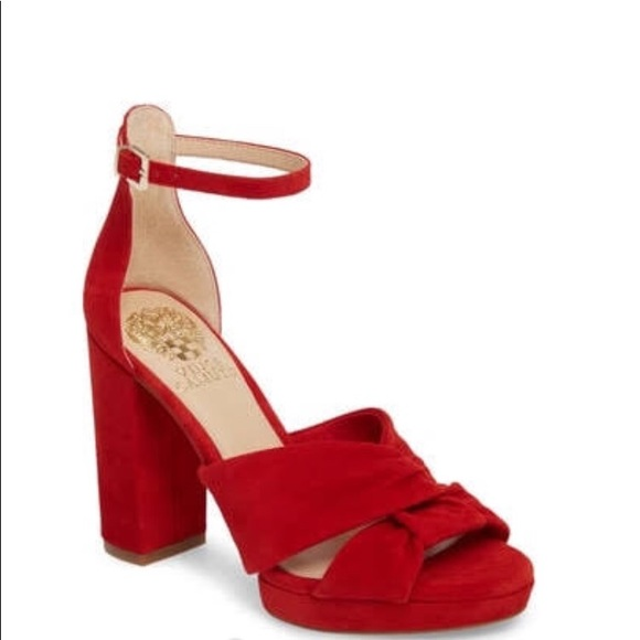 91acb9ddd59f Vince Camuto Corlesta Red Hot Rio Size 8.5